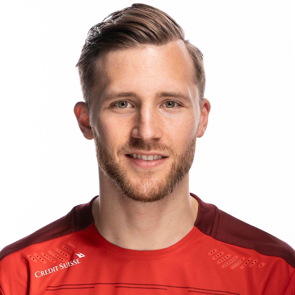 Portrait von Silvan Widmer, der Schweizer Fussballnationalmannschaft, aufgenommen am 22. Maerz 2021 in Abtwil (SG). (KEYSTONE/Gaetan Bally)