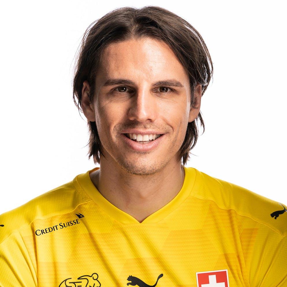 Portrait von Yann Sommer, der Schweizer Fussballnationalmannschaft, aufgenommen am 22. Maerz 2021 in Abtwil (SG). (KEYSTONE/Gaetan Bally)