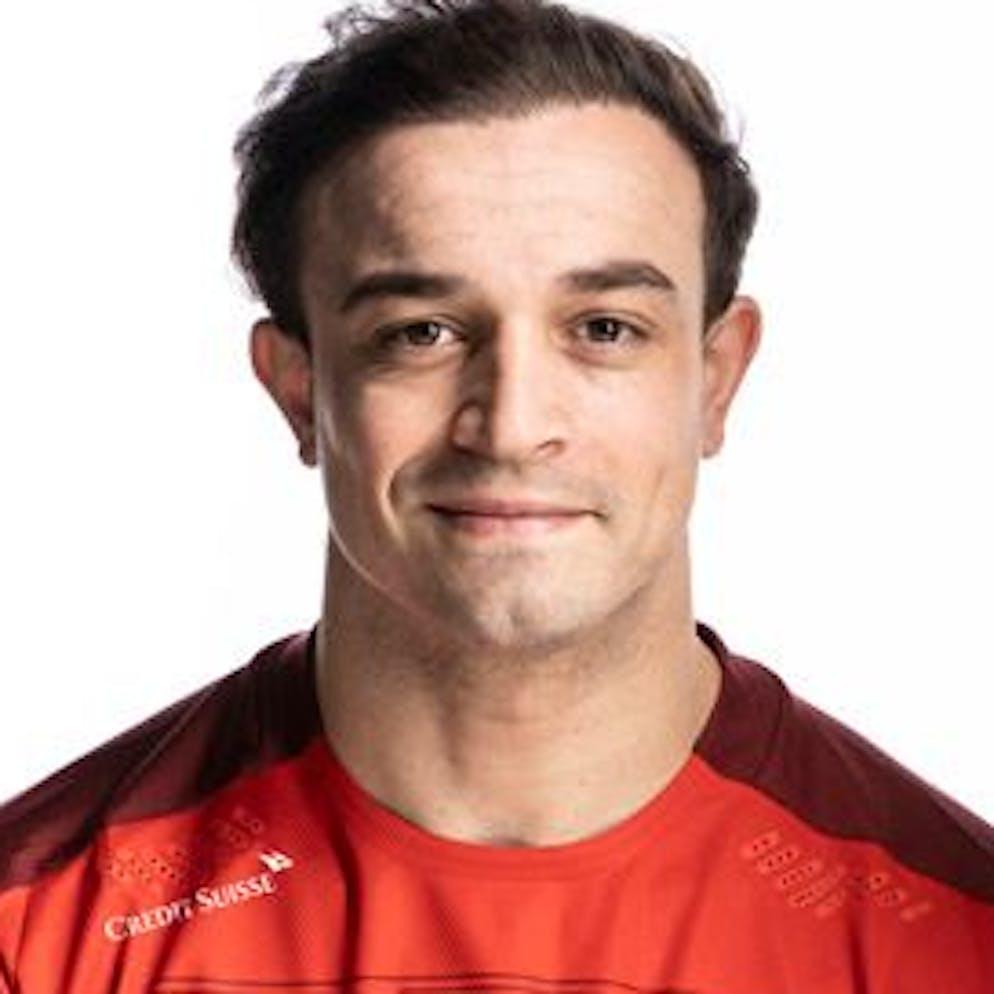 Portrait von Xherdan Shaqiri, der Schweizer Fussballnationalmannschaft, aufgenommen am 22. Maerz 2021 in Abtwil (SG). (KEYSTONE/Gaetan Bally)