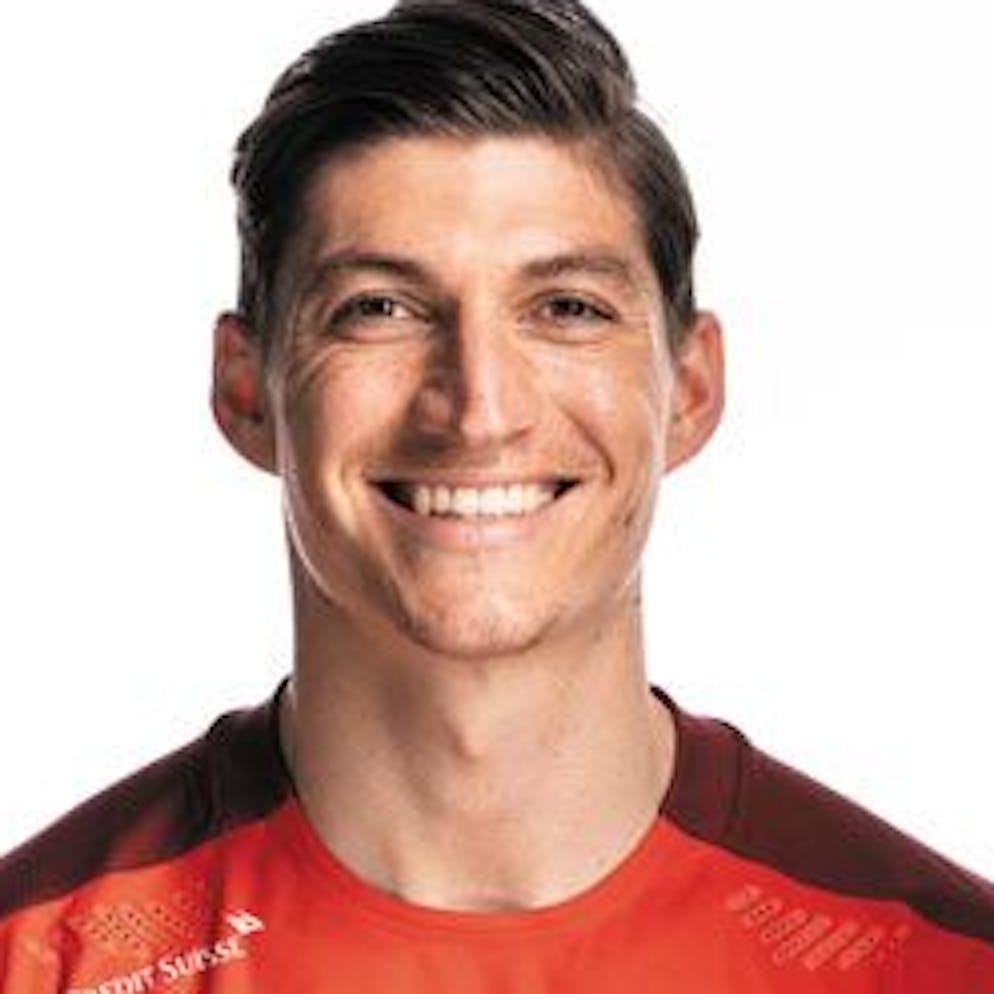 Portrait von Steven Zuber, der Schweizer Fussballnationalmannschaft, aufgenommen am 22. Maerz 2021 in Abtwil (SG). (KEYSTONE/Gaetan Bally)