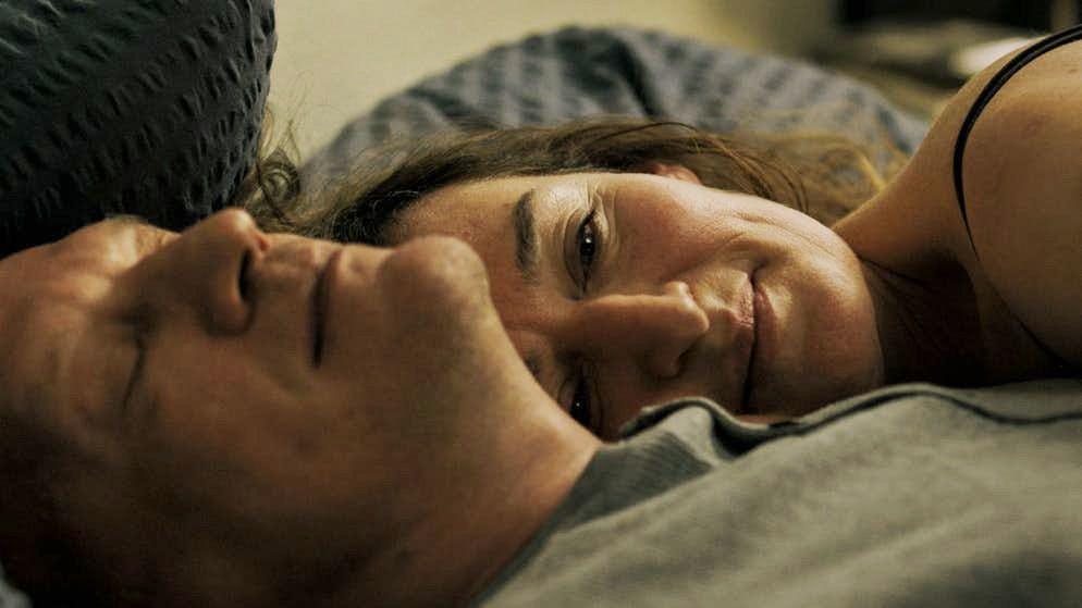 «Die totale Nacktheit unterstreicht, was Marina in dieser Affäre findet»: Rachel Braunschweig mitAlexey Serebryakow im neuen Kinofilm«Spagat».