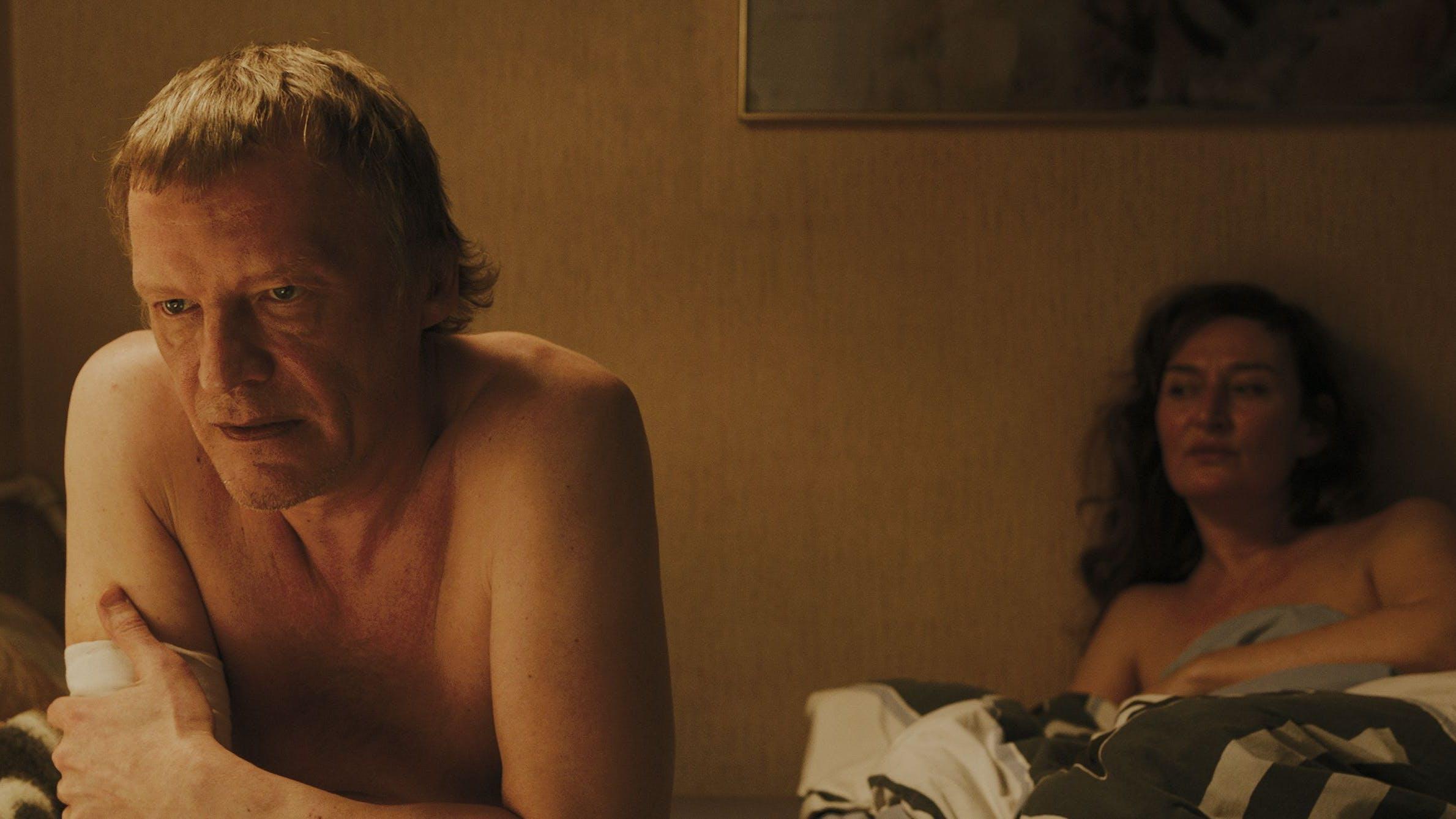 «Während eine Sexszene gedreht wird, ist jedes noch so kleine Detail wichtig»: Rachel Braunschweig mit Filmpartner Alexey Serebryakow.