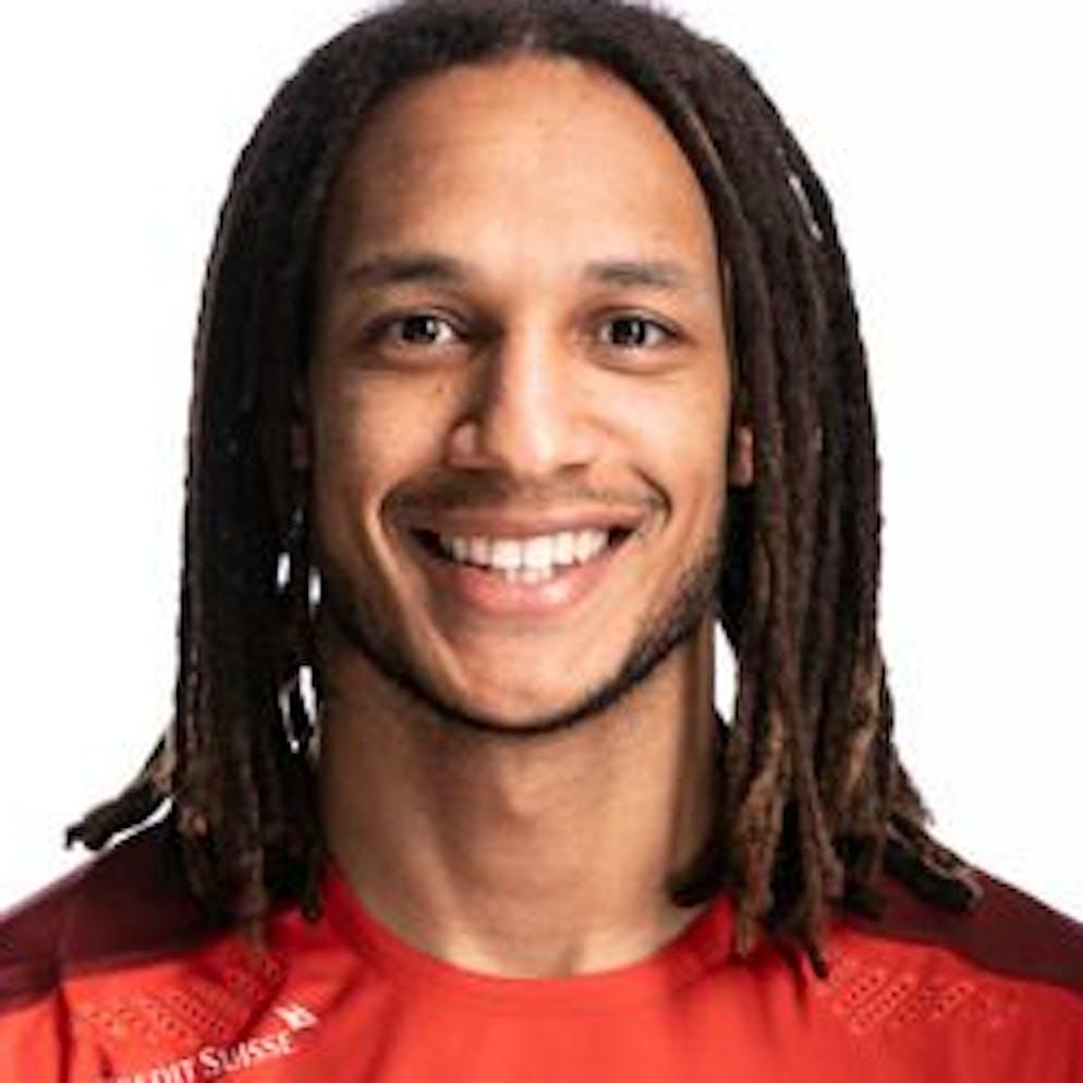 Portrait von Kevin Mbabu, der Schweizer Fussballnationalmannschaft, aufgenommen am 22. Maerz 2021 in Abtwil (SG). (KEYSTONE/Gaetan Bally)
