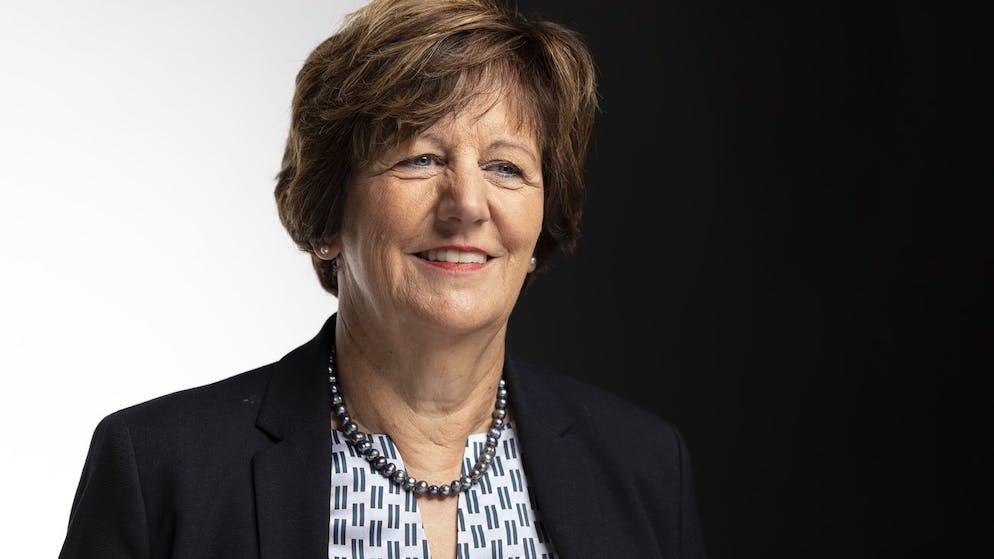 Ida Glanzmann-Hunkeler, Nationalraetin CVP-LU, portraitiert am 4. Dezember 2019 in Bern. (KEYSTONE/Gaetan Bally)
