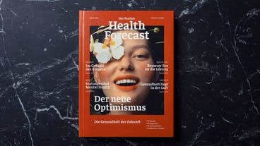 Das Buch «Health Forecast – Der neue Optimismus» kommt am 24. Juni in den Handel und kostet 18 Franken. (Pressebild)