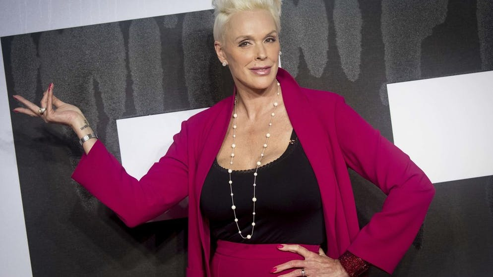 Actress Brigitte Nielsen poses for photographers upon arrival at the premiere of the film 'Creed II', in London, Wednesday, Nov. 28, 2018. (Photo by Vianney Le Caer/Invision/AP)