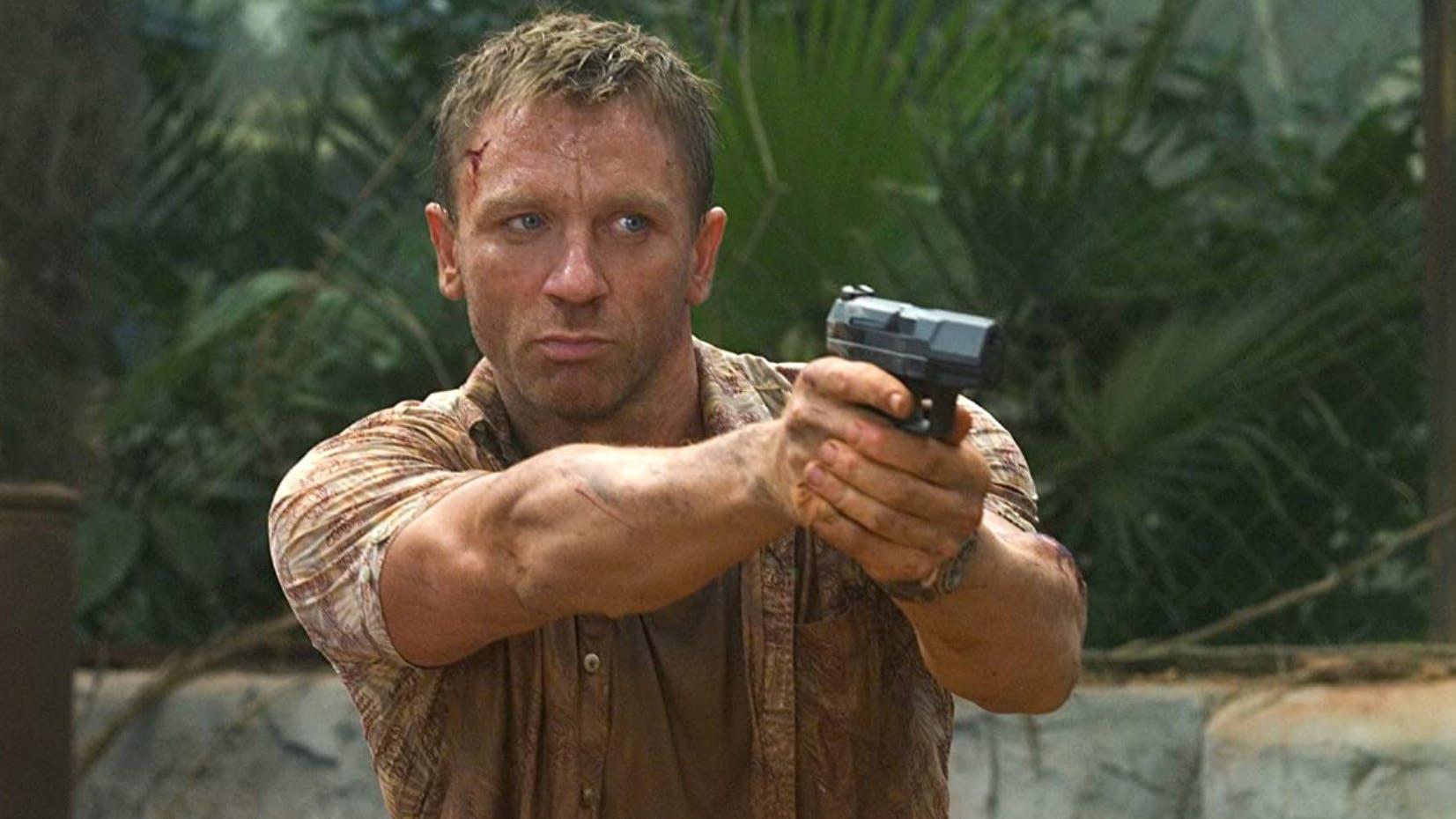 Es dauerte eine Weile, bis sich das Publikum mit ihm angefreundet hat: Daniel Craig als Bond in «Casino Royale».