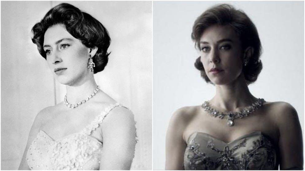 Un'altra Margaret, ma una nobildonna: la sorella minore della regina Elisabetta II è interpretata da Vanessa Kirby nelle prime due stagioni, ...