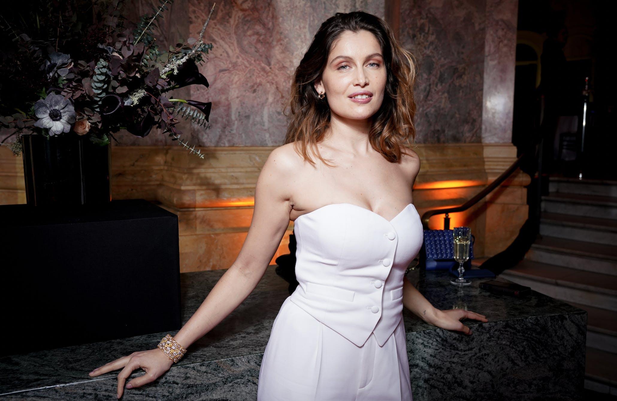 Model und Schauspielerin Laetitia Casta besucht das Locarno Film Festival, sie erhält den Exellence Award für ihre Arbeit in der Filmindustrie.