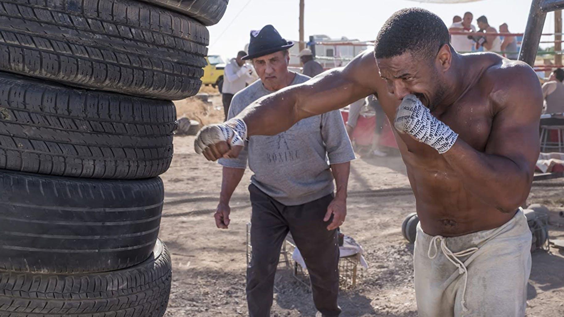 «Creed II» (2018): Als Trainer macht sich Rocky eigentlich ganz gut, hoffentlich nimmt die Figur von Michael B. Jordan diesen Ratschlag allerdings nicht all zu ernst: «Stell dein Hirn ab und lass dein Herz sprechen.»